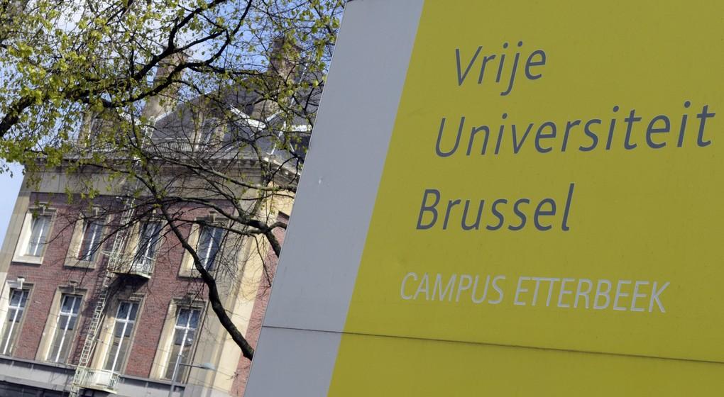VUB Logo Illustration Campus Etterbeek - Belga Benoit Doppagne