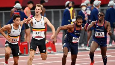 Jeux Olympiques : les Belgian Tornados se qualifient pour la finale du 4×400 m