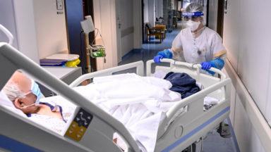 Covid-19 : Les contaminations en hausse de 4 % sur l'ensemble de la Belgique, moins d'hospitalisations