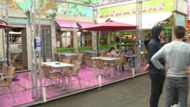 Foire du Midi : les forains installés près de la porte d'Anderlecht souffrent du manque de passage