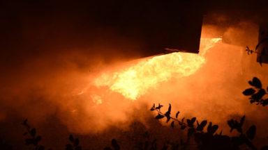 Forest : une villa squattée complètement incendiée