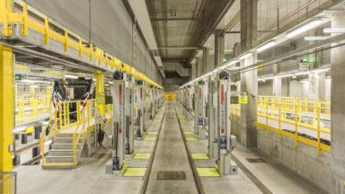 Érasme, un troisième dépôt pour les métros de la STIB, à Anderlecht