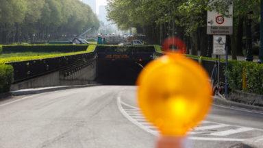 Le tunnel Léopold II restera fermé la nuit jusqu'au printemps 2022