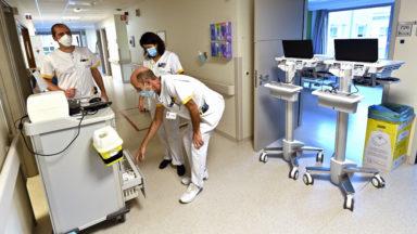 Plusieurs hôpitaux bruxellois demandent des transferts de patients Covid