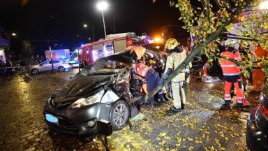 Une automobiliste désincarcéré après un accident boulevard Barthélémy