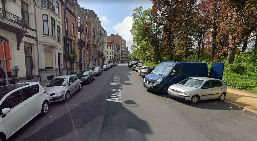 Avenue du Mont Kemmel - Forest - Capture Google STreet View