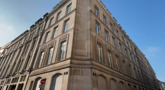 Bâtiment Meyboom Rue des Sables - Cabinet Pascal Smet