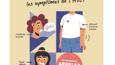Accident vasculaires cérébral : comment reconnaître les signaux d'alerte?