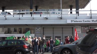 Dans les garages D'Ieteren, la grève continue et une nouvelle réunion se tient jeudi