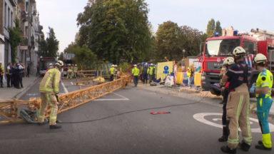 Effondrement d'une grue de chantier à Forest : une enquête est ouverte