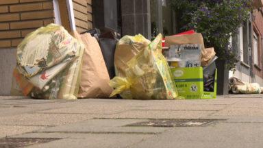 La collecte des sacs perturbée par une grève au sein de Bruxelles-Propreté : voici les communes concernées