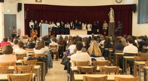 Classe élèves Vierge Fidèle schaerbeek - Projet Exil Terres de Femmes - Capture BX1