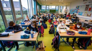 Écoles néerlandophones : le masque redevient obligatoire en 5e et 6e primaire