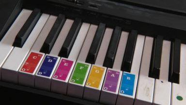 Musique : des codes couleurs pour apprendre à jouer d'un instrument