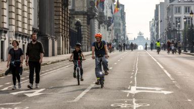 La qualité sonore et de l'air à Bruxelles était meilleure lors de ce dimanche sans voiture