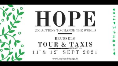 """Quelque 200 exposants au salon """"Hope"""" présenteront leurs idées pour un avenir durable"""