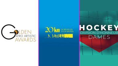Golden Afro Artistic Awards, 20 km de Bruxelles, hockey : un week-end événement sur BX1