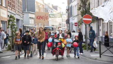 Le nouveau collectif citoyen de Molenbeek organise une première marche pour plus de sécurité routière