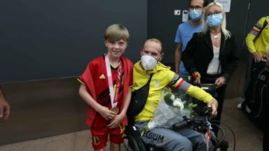 Jeux paralympiques : Maxime Hordies, médaillé de bronze, de retour de Tokyo