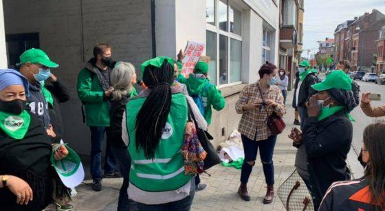 Mobilisation All Clean Anderlecht - CSC