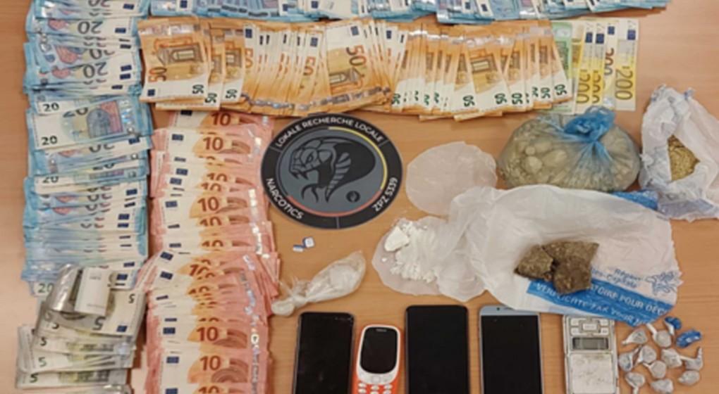 Perquisitions Cocaine Heroine - Bruxelles Capitale-Ixelles - 27092021