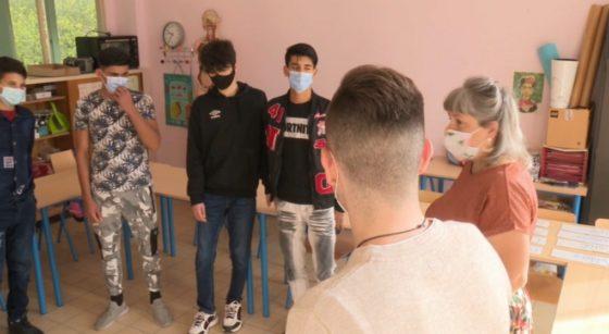 Primo-arrivants Rentrée scolaire Athénée Leonardo Da Vinci - Capture BX1