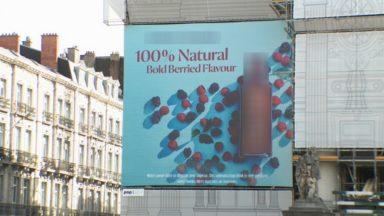 Bourse : une publicité pour de l'alcool sur une place… où la consommation d'alcool est interdite