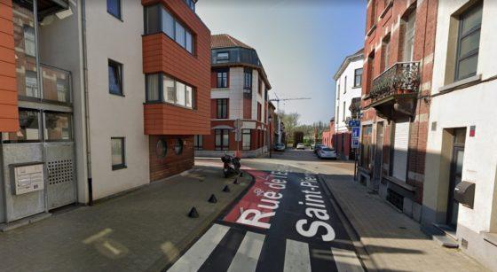 Rue de l'Eglise Saint-Pierre Jette - Capture GOogle Street View