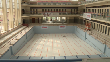 La réouverture de la piscine Neptunium à Schaerbeek prévue dans un an