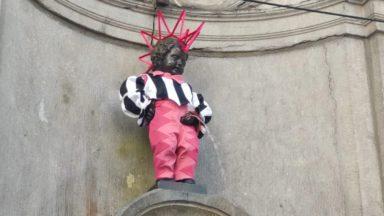 Bruxelles : le Manneken Pis arbore une tenue queer pour le festival Q.ARTz