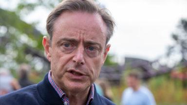 """De Wever : """"La faible vaccination à Bruxelles ne doit pas entraver un retour à la normale en Flandre"""""""