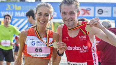 20 km de Bruxelles: Florence de Cock et Amaury Paquet victorieux