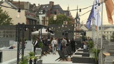 La nouvelle terrasse du Palais des Beaux-Arts inaugurée, avec vue imprenable sur Bruxelles