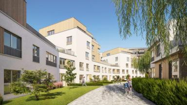 Forest : 80 nouveaux logements inaugurés dans une ancienne zone industrielle