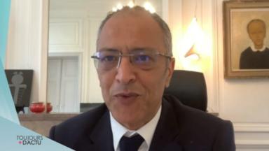 """Rachid Madrane : """"Le CST peut être voté le 8 octobre avec effet rétroactif"""""""