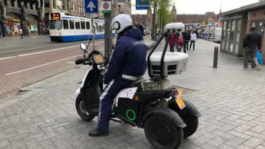 Trois scan scooters dorment chez Parking Brussels