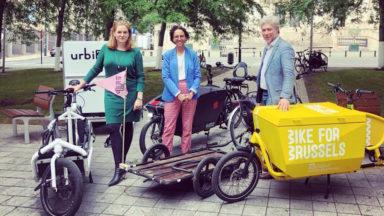 Une prime jusqu'à 4.000 euros pour les entreprises qui veulent acheter un vélo-cargo