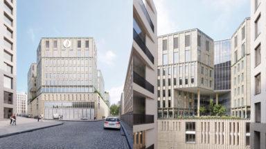 B-architecten et Osar désignés pour la construction du bâtiment central de la police