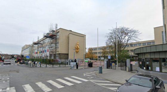 Bâtiments Campus Ceria Anderlecht - Google Street View