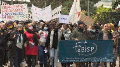 500 personnes manifestent pour un meilleur financement des formations pour les demandeurs d'emplois