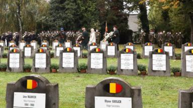 """Woluwe-Saint-Lambert: une plaque """"Pro Patria"""" rend hommage aux victimes belges de la guerre de Corée"""