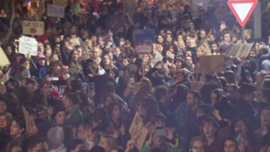 Cimetière d'Ixelles : 1300 personnes ont marché contre les violences sexuelles