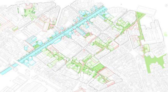 PAD Heyvaert - Réaménagement proposé - Crédit Perspective Brussels-CityTools-PlusOffice