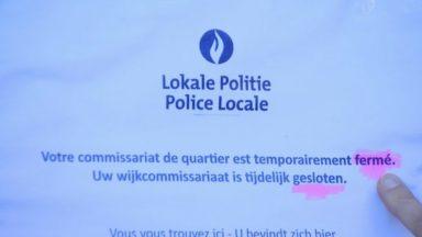 Anderlecht : faute de policiers, l'accueil du commissariat de la Roue est fermé