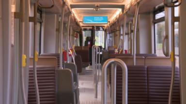 """Le premier """"Tramway New Generation"""" de la Stib est arrivé à Bruxelles"""