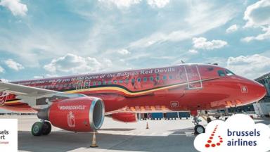 Les Diables Rouges et les Red Flames voleront avec Brussels Airlines depuis Zaventem