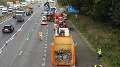 Accident sur la E40 à Grand-Bigard : la poutre du pont sera remplacée