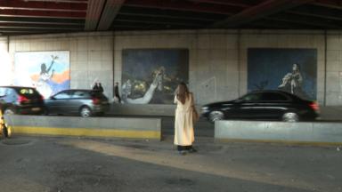 Quartier Senne : trois nouvelles fresques inspirées de projets artistiques féminins