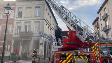 Forest : un incendie dans une habitation rue du Croissant fait un blessé léger