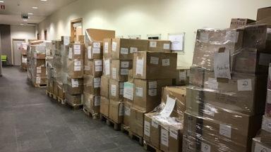 Iriscare a distribué deux millions de produits aux maisons de repos